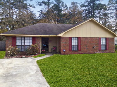 Hinesville GA Single Family Home For Sale: $108,000