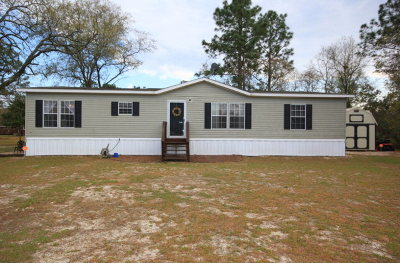 Jesup Single Family Home For Sale: 706 Rayonier Road