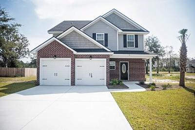 Hinesville, Ludowici Single Family Home For Sale: 44 Wyatt Court NE