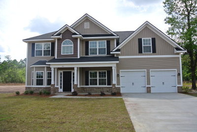 Hinesville, Ludowici Single Family Home For Sale: 124 Yearling Court NE