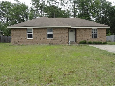 Hinesville Single Family Home For Sale: 1342 Loblolly Drive
