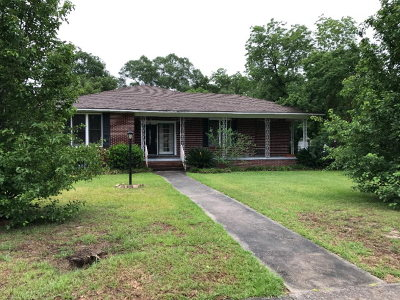 Glennville, Glenville Single Family Home For Sale: 311 Caswell Street