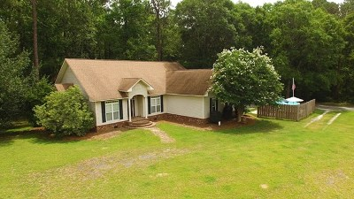 Glennville Single Family Home For Sale: 115 Oak Ridge Drive