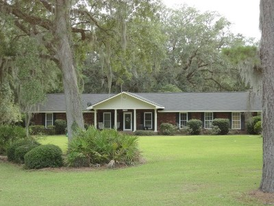 Hinesville Single Family Home For Sale: 3746 Highway 196 West