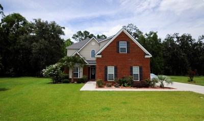 Hinesville Single Family Home For Sale: 1009 White Oak Circle