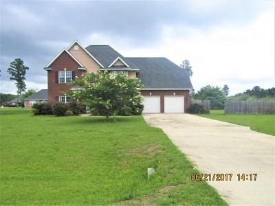 Ludowici Single Family Home For Sale: 152 Cypress Creek Drive NE