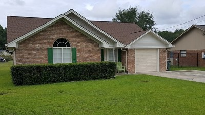 Hinesville GA Single Family Home For Sale: $114,900
