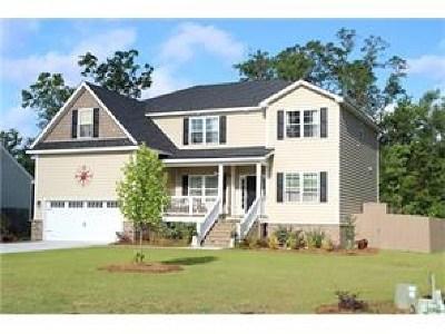 Savannah Single Family Home For Sale: 102 Live Oak Way