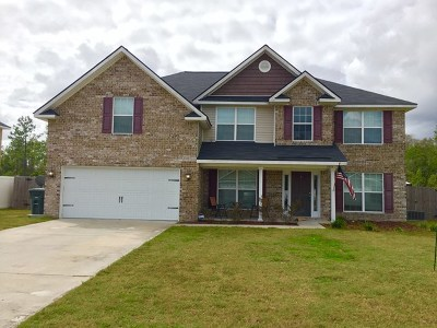 Hinesville Single Family Home For Sale: 1015 Miles Crossing