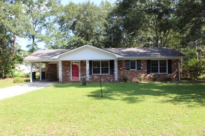 Hinesville Single Family Home For Sale 132 Fowler Street