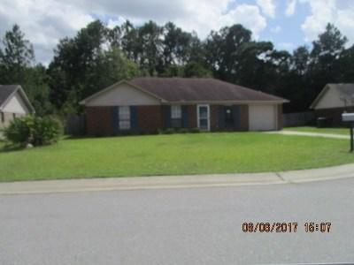 Hinesville Single Family Home For Sale: 1721 Ashton Drive
