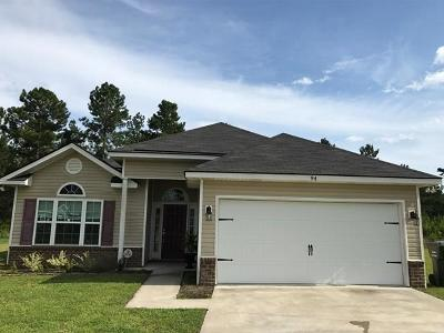 Ludowici Single Family Home For Sale: 94 Norton Street NE