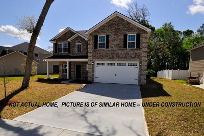 Hinesville Single Family Home For Sale: 422 Club Drive