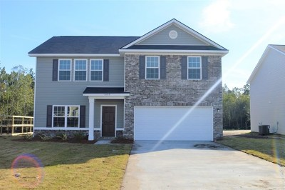 Hinesville Single Family Home For Sale: 1423 Evergreen Trail