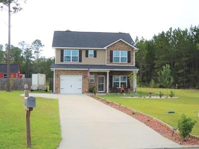 Ludowici Single Family Home For Sale: 119 Highland Road NE