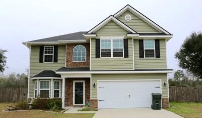Ludowici Single Family Home For Sale: 80 Cumberland Drive NE