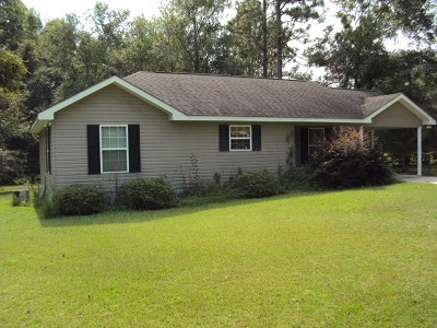 Glennville Single Family Home For Sale: 108 Ash Court
