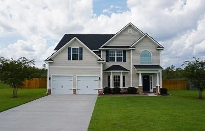 Ludowici Single Family Home For Sale: 344 Highland Pony Way NE