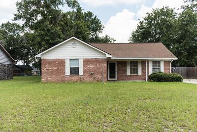 hinesville Single Family Home For Sale: 1429 Paul Caswell Boulevard