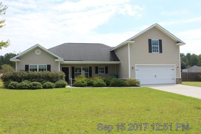 Ellabell GA Single Family Home For Sale: $167,500