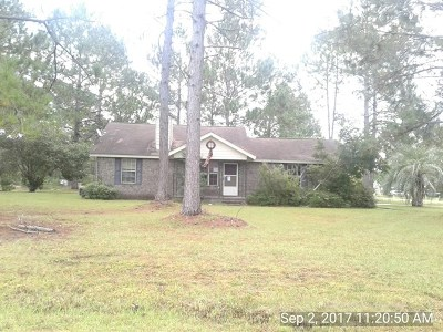 Hinesville Single Family Home For Sale 327 Whit Fraser Road