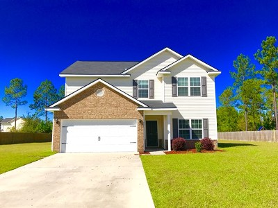 Ludowici Single Family Home For Sale: 168 Murray Crossing Boulevard NE