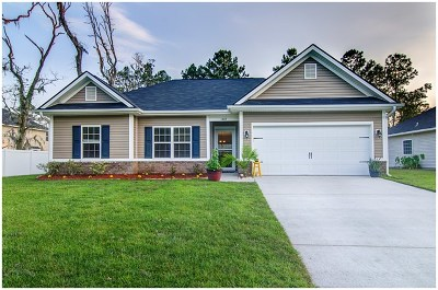 Hinesville Single Family Home For Sale: 1267 Peacock Trail