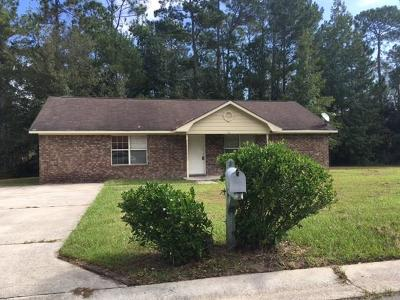 Hinesville Single Family Home For Sale: 801 Hod Lane