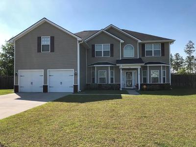 Ludowici Single Family Home For Sale: 68 Marion Court NE