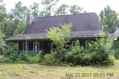 Hinesville GA Single Family Home For Sale: $124,900