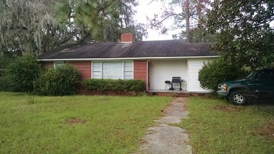 Jesup Single Family Home For Sale: 1195 West Orange Street