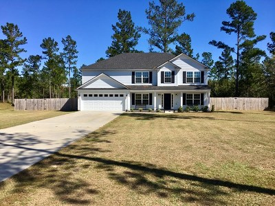 Ludowici Single Family Home For Sale: 3102 Old Macon Darien Road SE