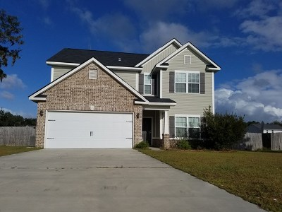 Ludowici Single Family Home For Sale: 71 Welsh Pony Trail NE