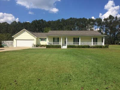 Glennville Single Family Home For Sale: 2285 Beards Creek Church Road
