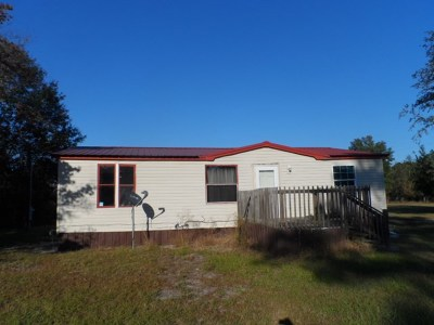 Jesup Single Family Home For Sale: 2505 Constance Road