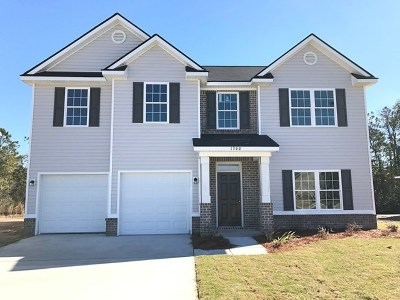 Hinesville Single Family Home For Sale: 1360 Poplar Circle