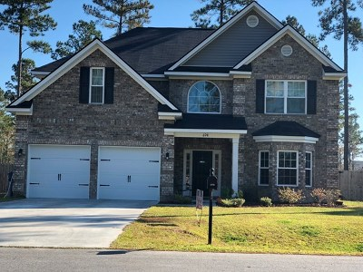 Ludowici Single Family Home For Sale: 698 Briarcrest Drive NE