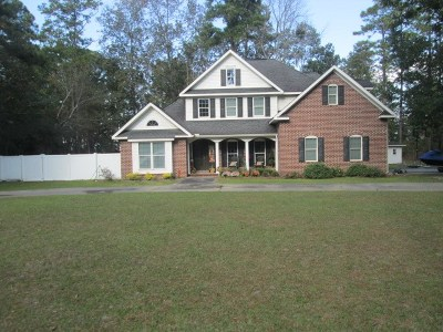 Jesup Single Family Home For Sale: 522 Altamaha Road