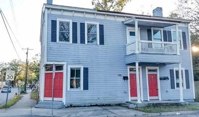 Savannah Single Family Home For Sale: 1021 East Bolton Street