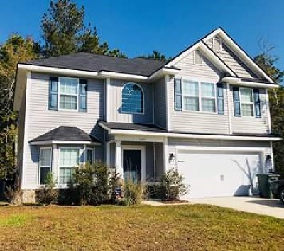 Hinesville Single Family Home For Sale: 1320 Hill View Circle