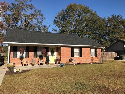 Hinesville Single Family Home For Sale: 2544 Parkland Boulevard