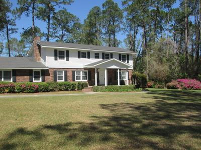 Glennville Single Family Home For Sale: 3982 West Hencart Road