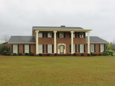Glennville, Glenville Single Family Home For Sale: 873 Pecan Road