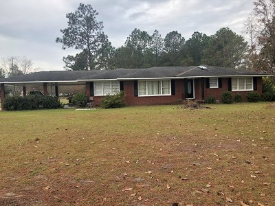 Jesup Single Family Home For Sale: 30 Woodland Drive