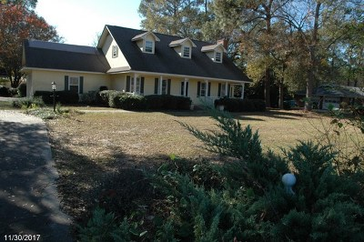 Glennville, Glenville Single Family Home For Sale: 10781 Highway 23
