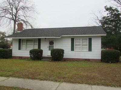 Glennville Single Family Home For Sale: 312 Howard Street