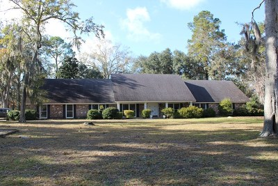 Hinesville Single Family Home For Sale: 1055 Live Oak Drive