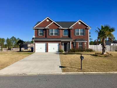 Ludowici Single Family Home For Sale: 21 Archie Way NE