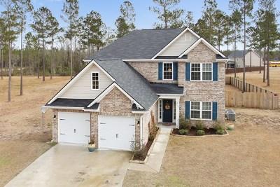 Allenhurst, Glennville, Hinesville, Ludowici Single Family Home For Sale: 206 Brandywine Court NE