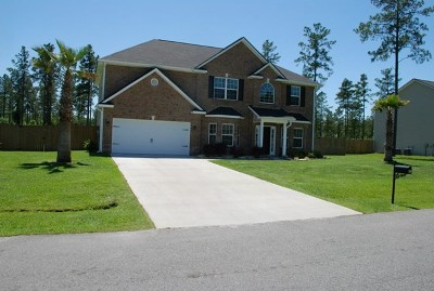 Ludowici Single Family Home For Sale: 158 Canterbury Drive NE